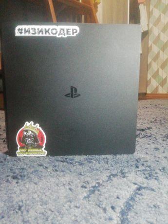 Ps4 slim, диски, 2 геймпада
