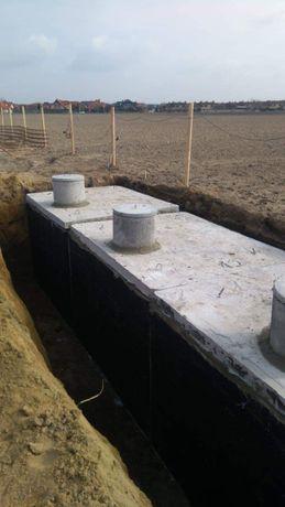 Betonowy Zbiornik 11000l Szambo Betonowe na gnojowice odchody ścieki