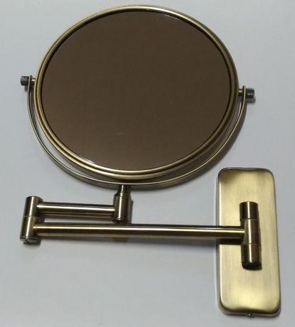 Зеркало косметическое (бронза)