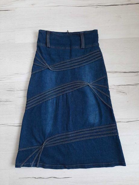 Spódnica jeans jety 38 M