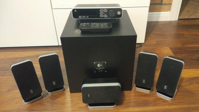 Zestaw głośników aktywnych 5.1 Logitech Z-5400, głośniki, kino domowe.