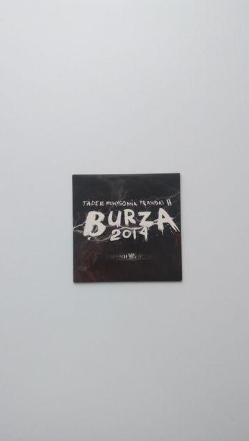 Tadek niewygodna prawda II Burza, hip hop rap płyta CD