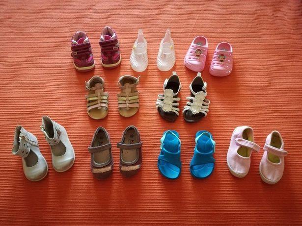 Lote Sapatos/Crocs/Sapatilhas, 22-23