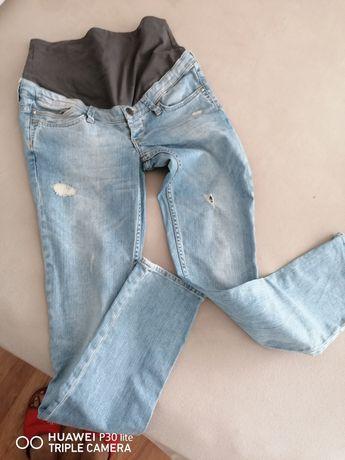 Spodnie ciążowe h&m 38