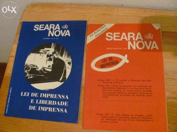 Revistas Seara Nova antigas