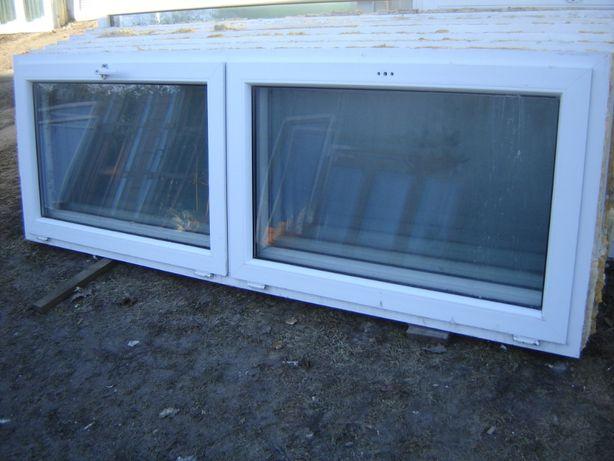 okna pcv niskie,szerokie z demontażu