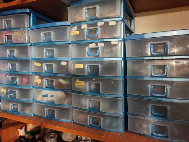 Продам ящики для хранения секционные