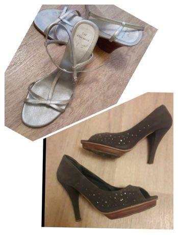 босоножки 40р + туфли в подарок