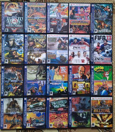 НОВІ Диски Ігри Playstation 2/PS2/ПС2/Плейстейшн 2 Великий вибір.