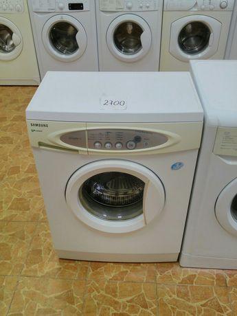 Магазин продаст стиральную машину Samsung с Гарантией