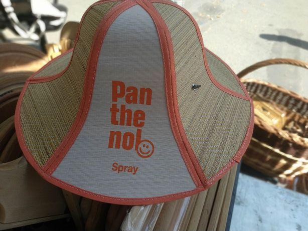 Шляпка - панама из нат материала
