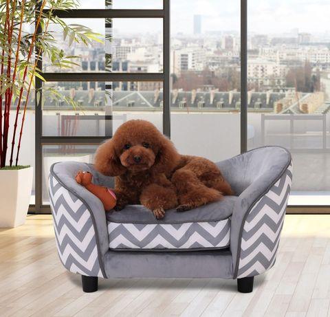 Sofa dla zwierząt domowych łóżko sofa dla psa z poduszką