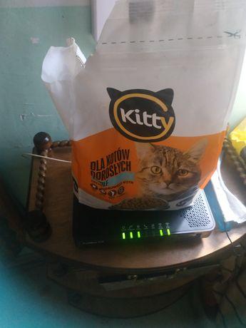 Karma dla kota , przeszło kilogram
