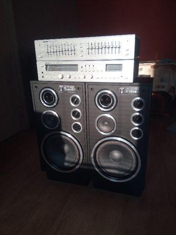 Amplituner Radmor FM5412 Korektor 5471 kolumny Altus 75
