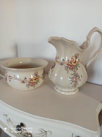 Stara porcelana, toaleta, nocnik