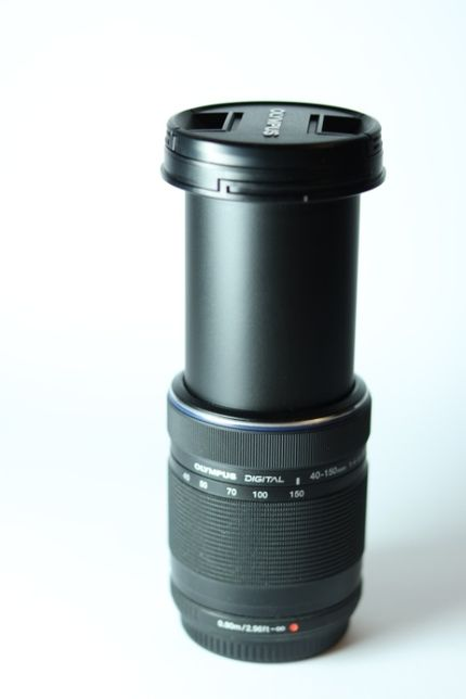 Объектив Olympus M.ZUIKO DIGITAL ED 40-150 f/4-5.6R micro 4/3