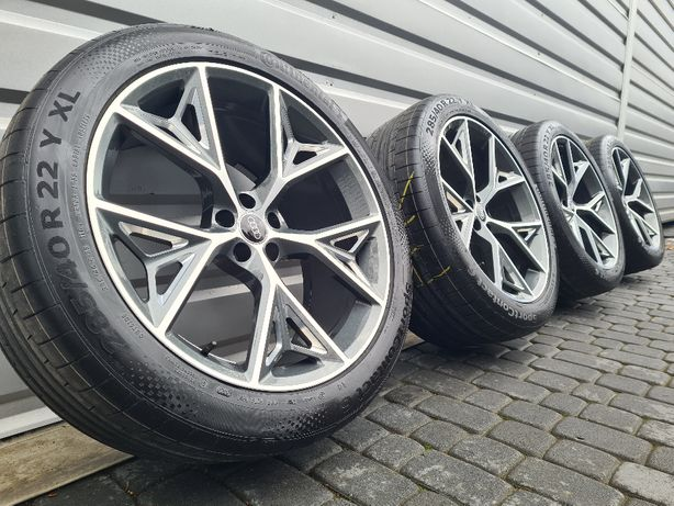 NOWE Oryginalne Koła Audi 22 RS6 RS7 A8 S8 Q5 SQ5 Q7 SQ7 Q8 SQ8 Etron