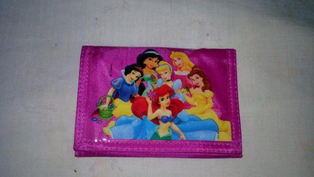 Carteira Porta-moedas Disney Novos