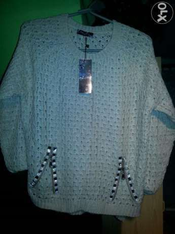 Sweterek elegancki damski