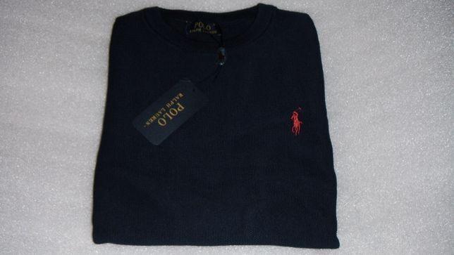 sweter polo ralph lauren granatowy