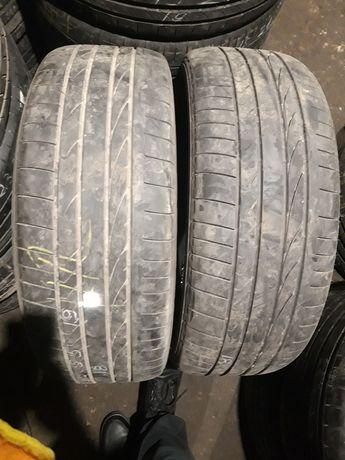 255.55.19 Bridgestone 2шт 18г лето БУ склад шины 30.35.40.245.235.265
