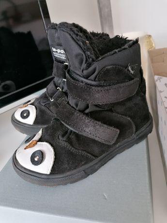 Buty zimowe skórzane Mrugała