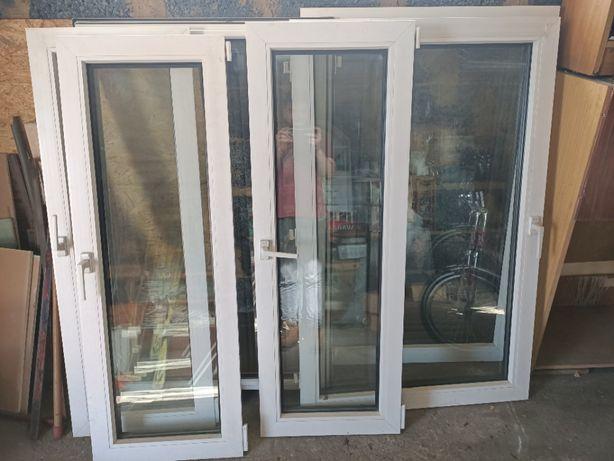 Okna PCV 147x143 pod demontażu