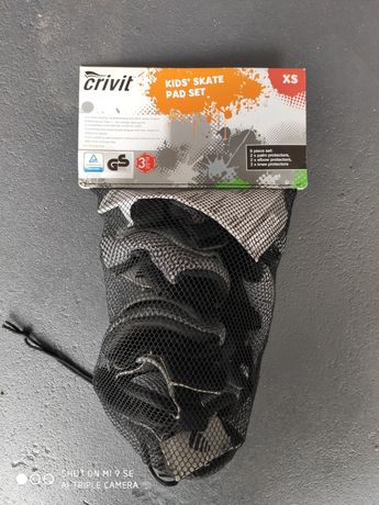 Nowe nie używane Ochraniacze na rolki wrotki deskorolkę. Rozmiar XS.