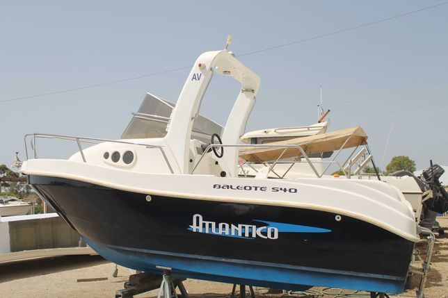 Casco Atlantico Baleote 540 - sem motor