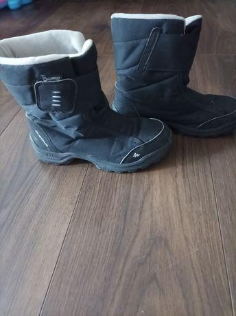 Buty zimowe chłopięce Decathlon 34
