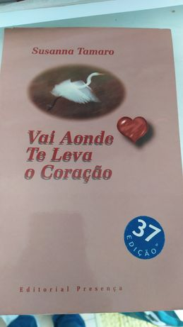 Livro vai aonde te leva o coração