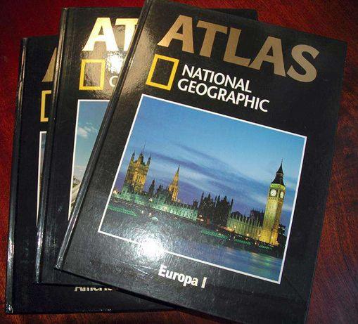 Atlas National Geographic - 3 livros