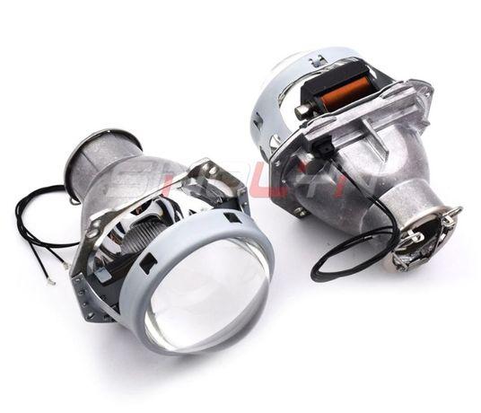 Soczewki projektory Bi Xenon HID LED H7 D2S, Sinolyn HL H7 Retrofit
