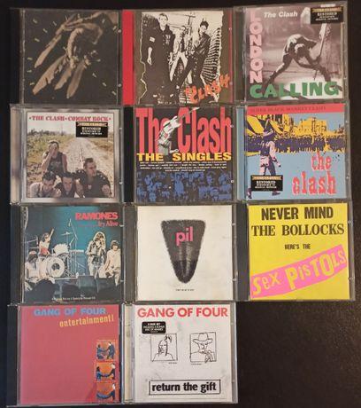 The Clash, Sex Pistols, Gang of Four, Bad Religion e outros em CD