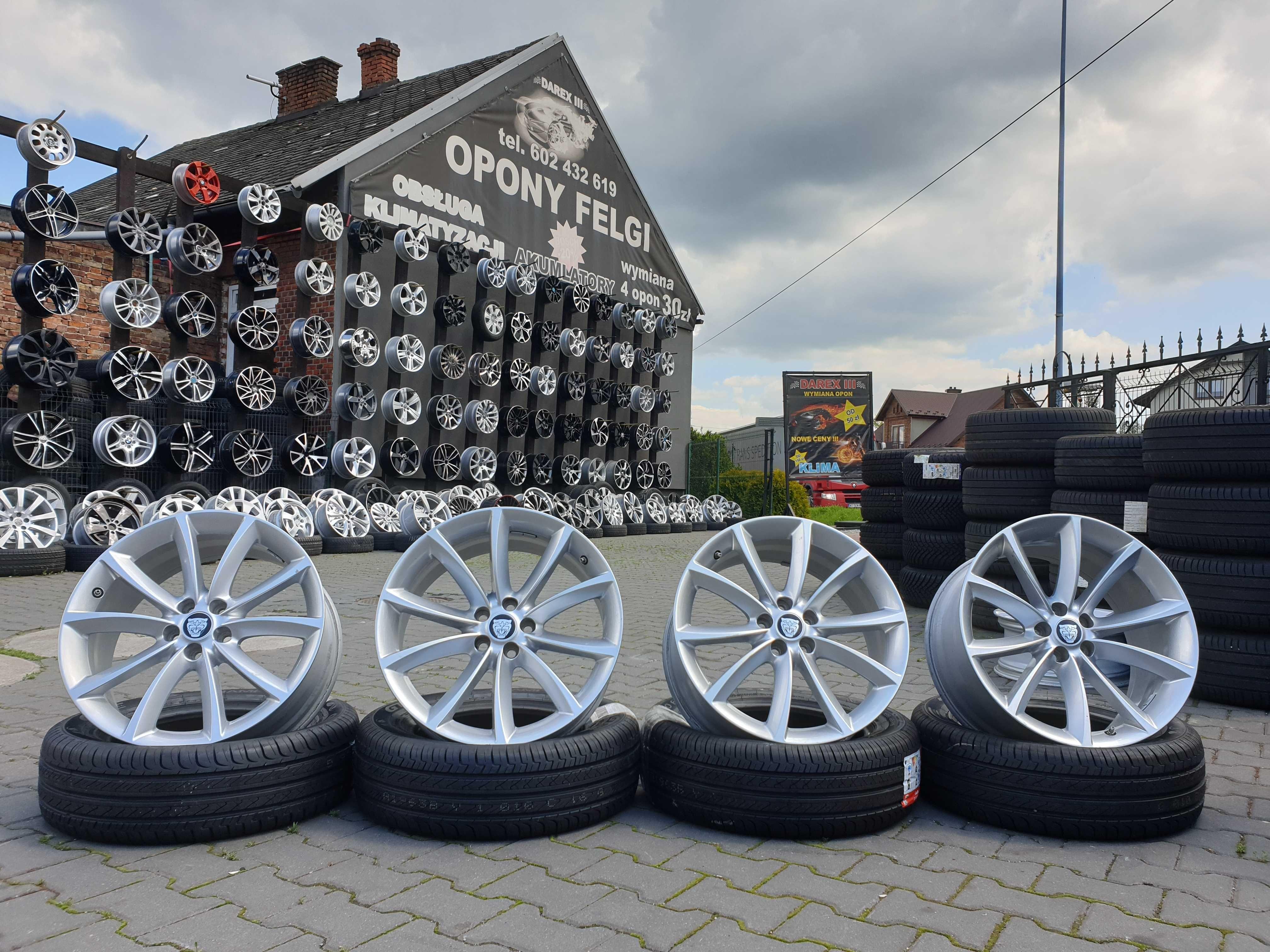 """Felgi aluminiowe Jaguar 19"""" 5x108 8,5j et49 i 9,5j et27"""