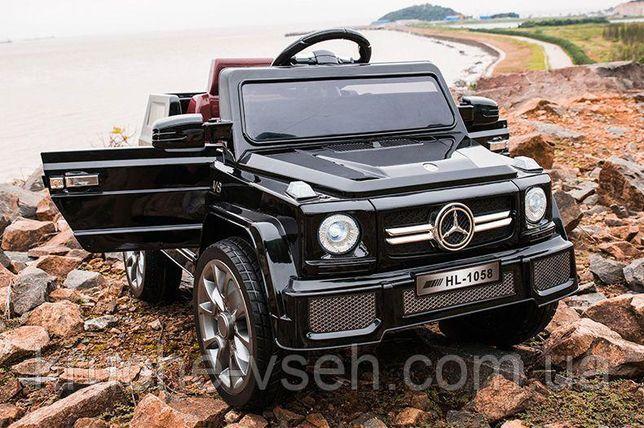 Детский электромобиль Джип M 2788, Mercedes G80, кожа, EVA-резина
