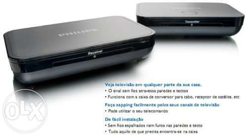 Tv-link sem fios philips slv3110/12