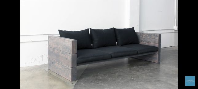 Sofa na taras/ do ogrodu - DIY - do samodzielnego złożenia