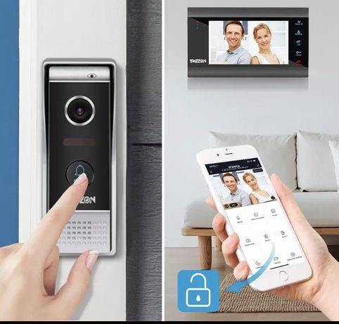 vídeo porteiro inteligente, wi-fi -App