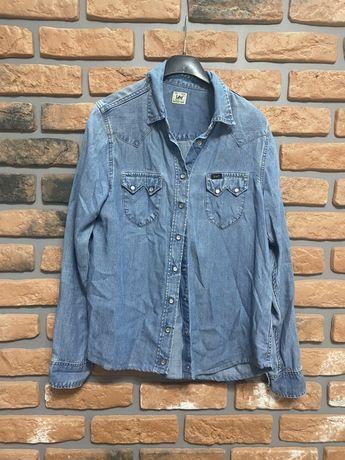 Lee koszula jeansowa jeans dżins s 36