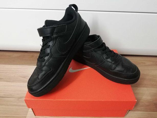Buty chłopięce na rzepy Nike Sportswear Court Borough Low 2 rozmiar 35