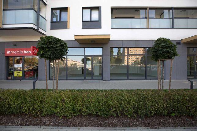 Lokal usługowy, witryny, nowy blok. 101 m2, Zwierzyniecka, Mokotów
