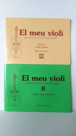Envio grátis! Método de violino - El meu violí, Rafael Torrescasana