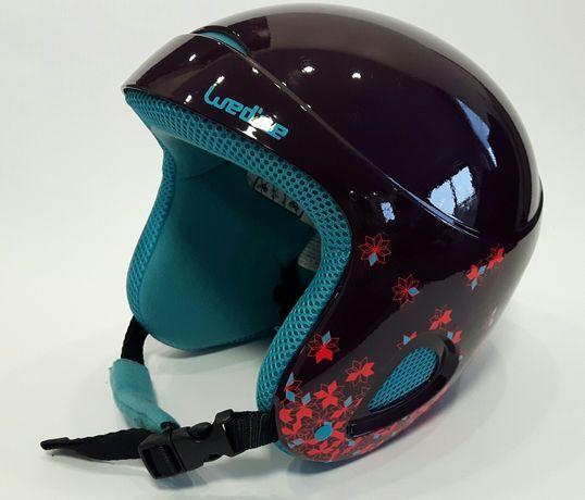 Wed'ze Decathlon kask narciarski h400 junior narty snowboard 48-52 cm