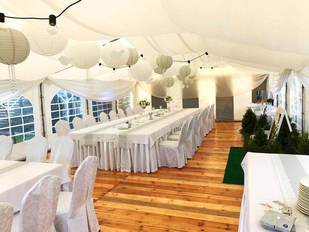Wynajem namiotów komunia wesele imprezy plenerowe urodziny