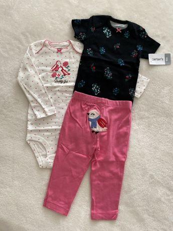 Комплект carters набор картерс  шорты бодики для девочки мальчика