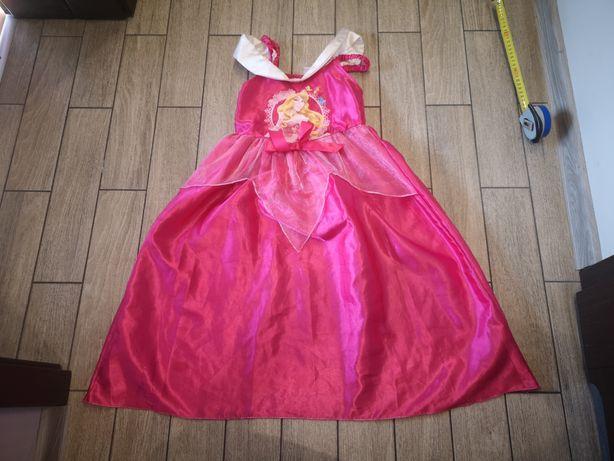 Sukienka Aurory Aurora śpiąca królewna disney roz.7-8lat(122-128cm)