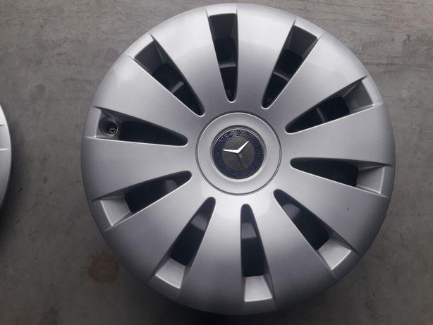 Felgi stalowe Mercedes '16' oryginalne kapsle + czujniki ciśnienia.
