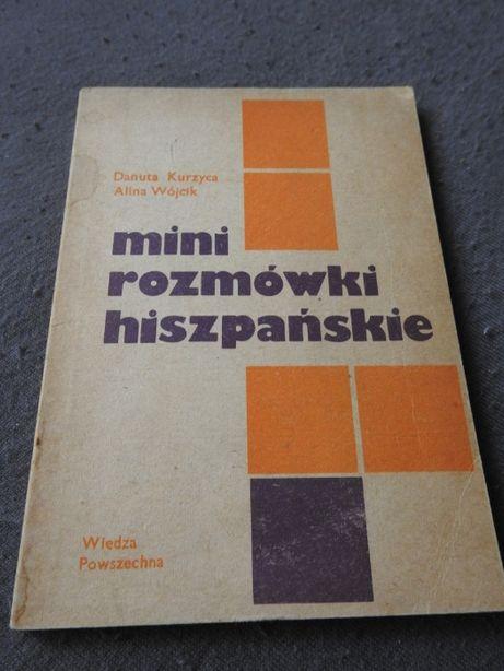 Mini rozmówki hiszpańskie - D. Kurzyca, A. Wójcik