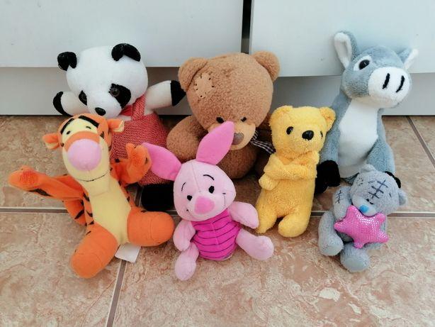 Набор: мягкая красивая игрушка мишка Teddy панда ослик Тигра пяточек